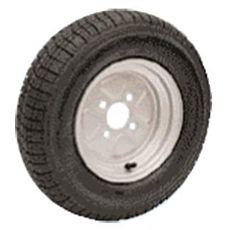 "Ruote pneumatiche per carrelli alta velocità 4/8"""