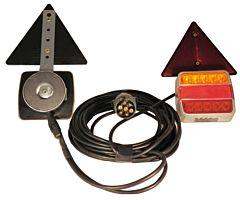Kit luci a LED fissaggio magnetico 4 funzioni