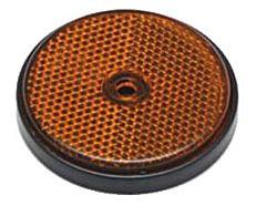 Catarifrangente arancio 60 mm