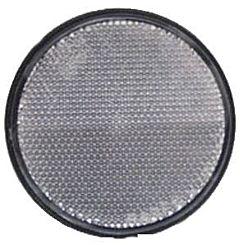 Catarifrangente adesivo bianco 60 mm