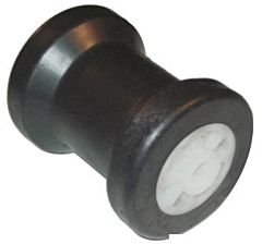 Rullo centrale PVC Ø foro 14 mm