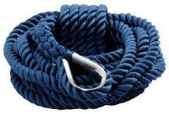Cima ormeggio blu 12 mm x 9 m
