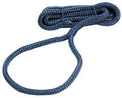 Cima per parabordi impiombata 1,5 m blu