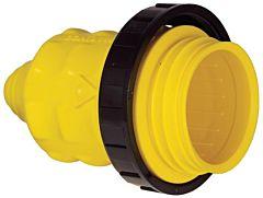 Cappuccio giallo x spina 30 A