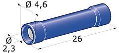 Spinotto giunzione femmina 1-2,5 mm²