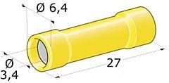 Giunzione femmina per cavi da 2 a 6 mm²