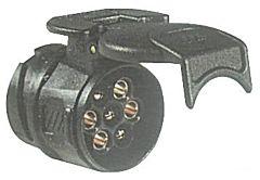 Adattatore carrello 13-7 poli 12 V
