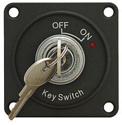 Interruttore ON-OFF con chiave e LED