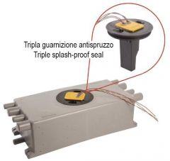 Pozzetto 20 L con sensore elettronico per 2 pompe