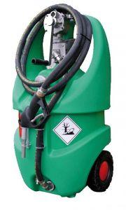 Serbatoio per benzina con ruote 55 l omologato ADR