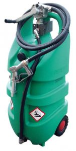 Serbatoio per benzina con ruote 110l omologato ADR