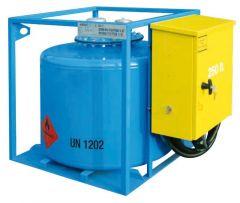 Serbatoio benzina 250 l ADR con contalitri