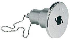 Tappo inox imbarco Water 38 mm
