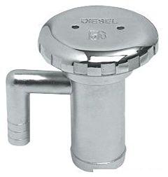 Tappo inox con sfiato Water 38 mm