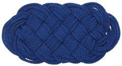 Zerbino nylon 47 x 23 cm blu