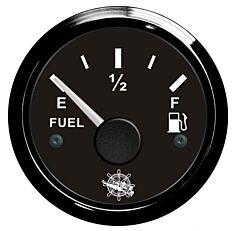 Indicatore carburante 240/33 Ohm nero/nera
