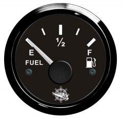 Indicatore carburante 10/190 Ohm nero/nera
