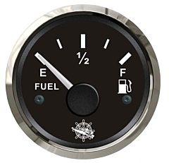 Indicatore carburante 240/33 Ohm nero/lucida