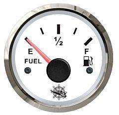 Indicatore carburante 240/33 Ohm bianco/lucida