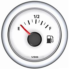 Indicatore livello carburante 10/180 Ohm bianco