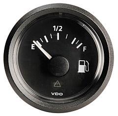 Indicatore Carburante VDO nero 240 / 33 ohm