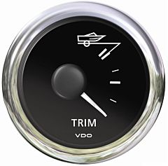 Indicatore trim nero