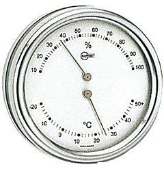 Termo/igrometro Barigo Orion quadrante argento