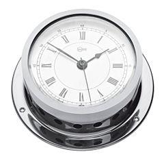 Orologio Barigo con sveglia ottone cromato