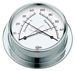 Igro/termometro Barigo Regatta bianco
