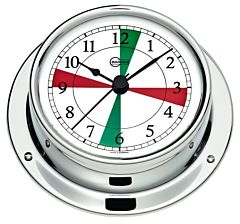 Orologio con radiosettori Barigo Tempo S cromato
