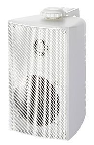 Casse stereo Cabinet bianche