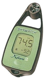 Anemometro portatile Skywatch Xplorer 2