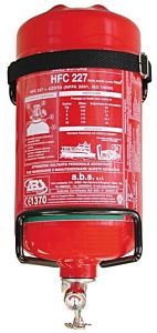 Estintore Easy Fire con pressostato 3 kg