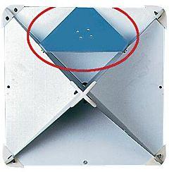 Kit piastra fissaggio riflettore radar