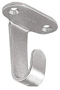 Gancio inox a  soffitto mm 45