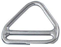 Triangolo barra inox 6x50 mm