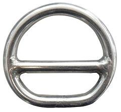 Mezzo anello barra inox 6x50 mm