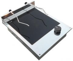 Piano cottura vetroceramica 1+1 fuoco