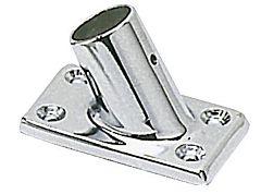 Supporto pulpito 60° 22 mm rettangolare