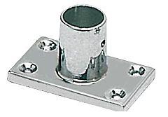 Supporto pulpito 90° 22 mm rettangolare