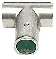 Raccordo lega leggera T 90° 25 mm