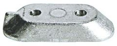 Anodo zinco cavalletto Yamaha 4/70 HP diametro fori 6,5 mm