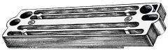 Anodo Tohatsu 60/225 HP magnesio