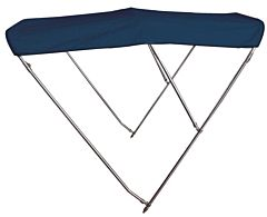 Tendalino 3 archi Inox alto cm 160/170 blu