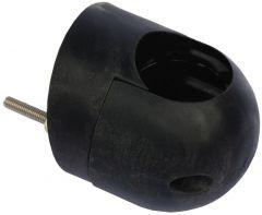 Basetta cieca tubo 44 mm