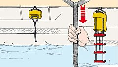 Scaletta emergenza 134 cm