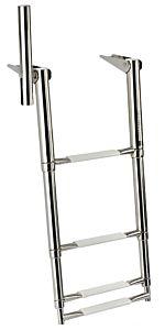 Scaletta 4 gradini con maniglia 345 mm