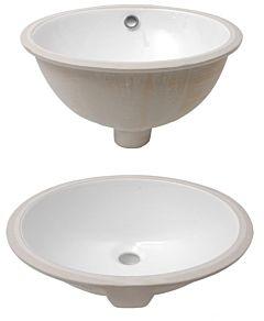 Lavello ovale sottopiano