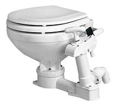 WC manuale Super Compact legno