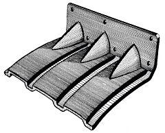 Flap plastica 280 x 200 mm